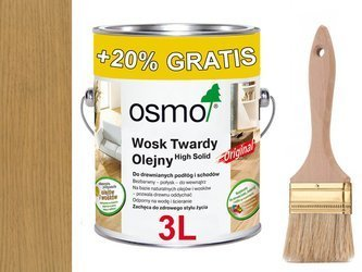 OSMO 3062 wosk twardy olej BEZBARWNY MAT ------ 3L