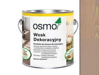 OSMO 3132  wosk dekoracyjny IRCHOWO SZARY 0,375L