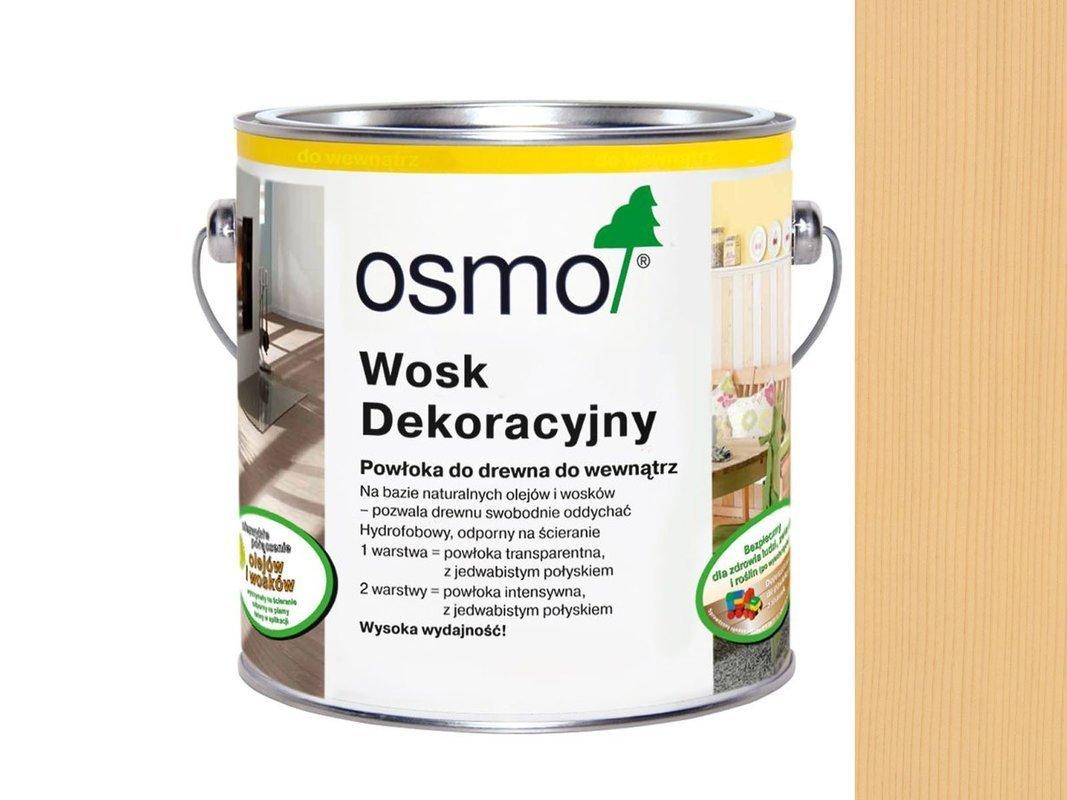 OSMO 3136 wosk dekoracyjny KOLOR BRZOZA 0,125L