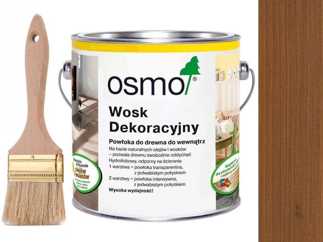 OSMO 3143 wosk dekoracyjny KOLOR KONIAK 25L