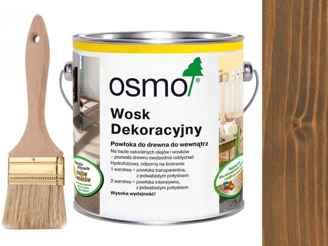 OSMO 3166 wosk dekoracyjny KOLOR ORZECH 0,75L