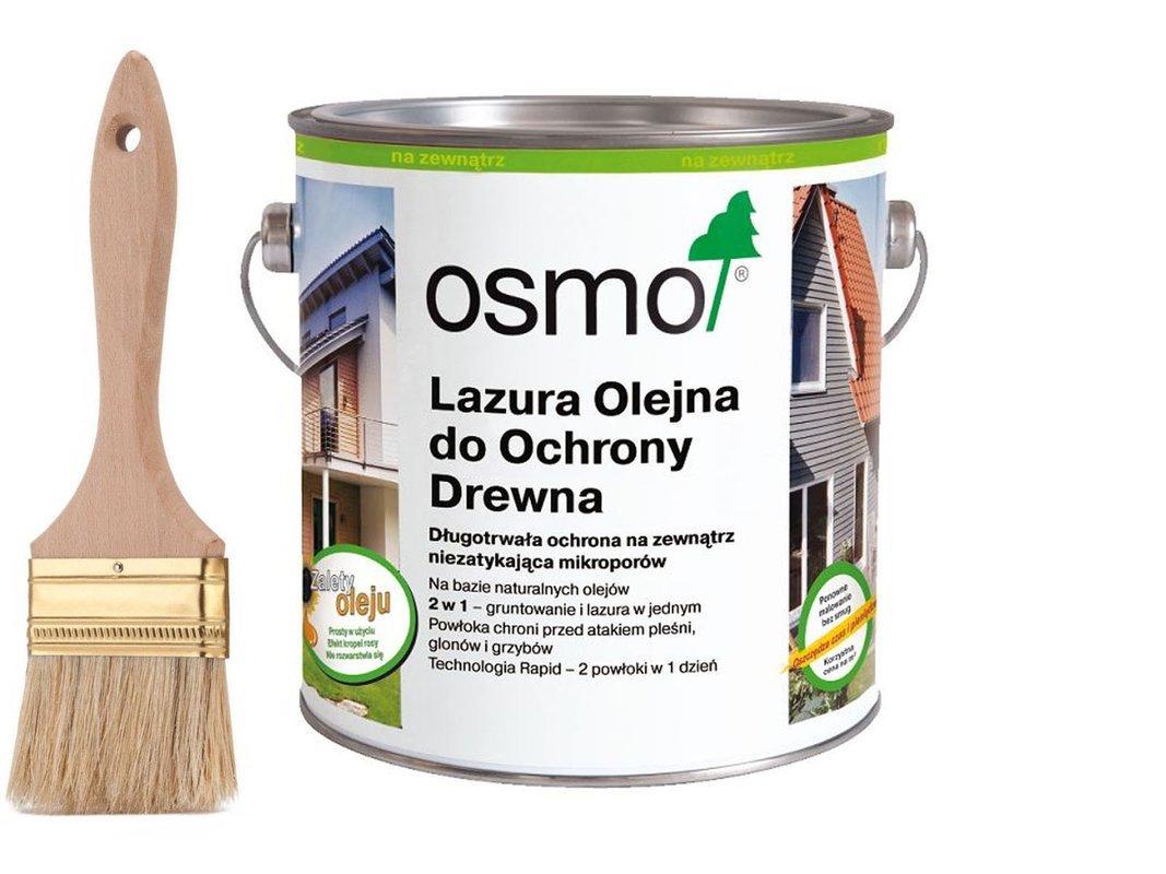 OSMO 701 Lazura Ochronna do drewna BEZBARWNY 2,5L