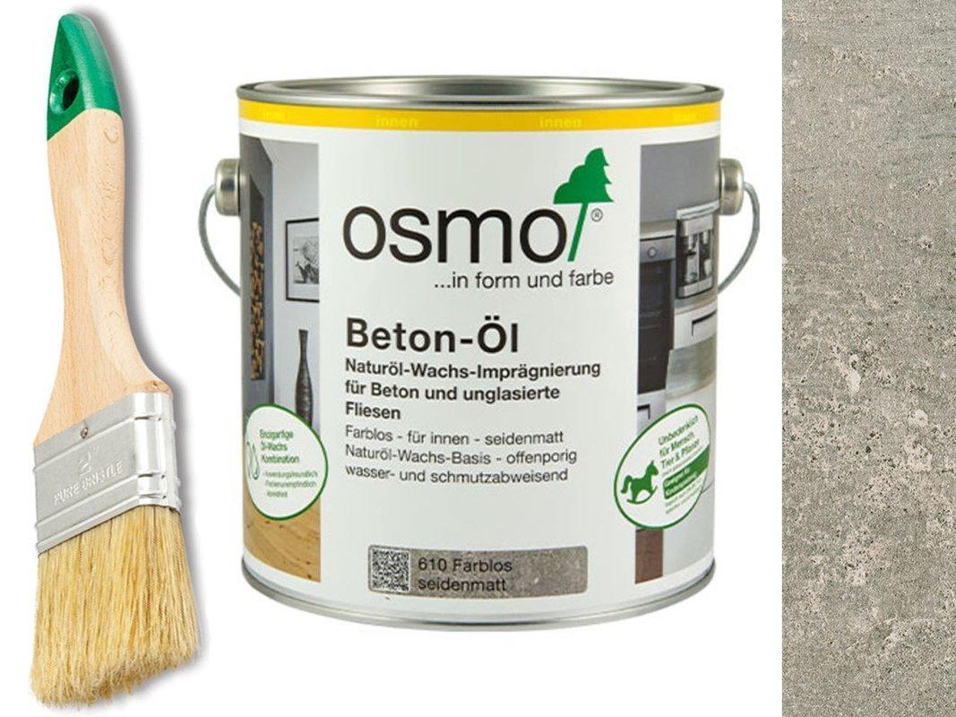 OSMO Impregnat Olej do betonu kamienia 610 2,5L