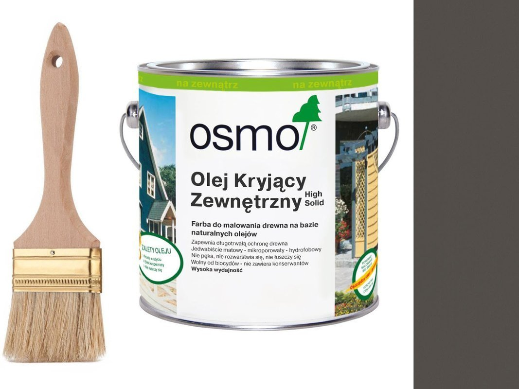 OSMO Olej Kryjący 2704 KAMIENNY SZARY 25L + GRATIS