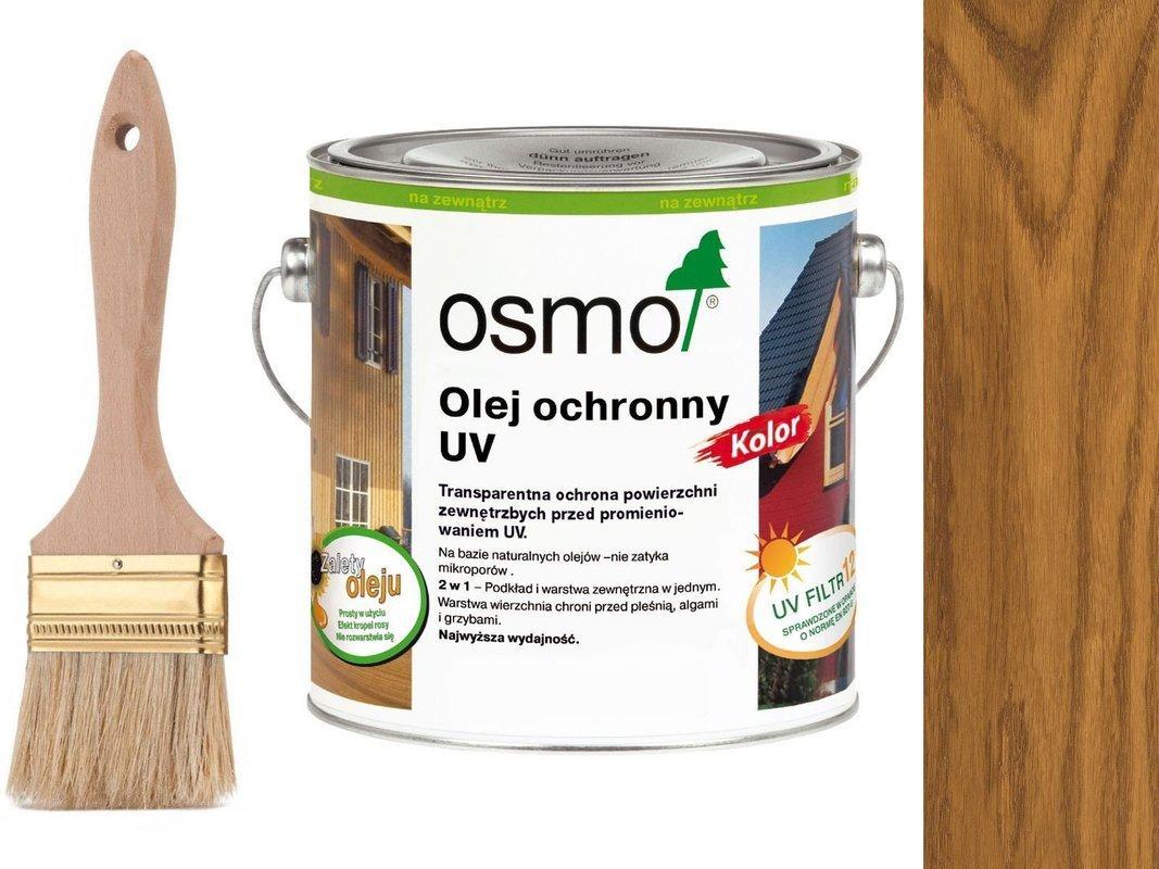 OSMO Olej Ochronny UV KOLOR Dąb 425 0,75L + GRATIS
