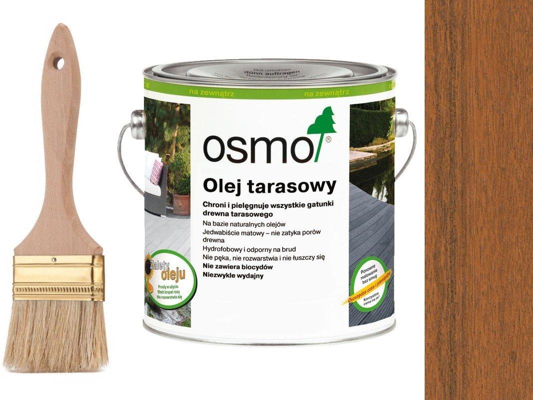 OSMO Olej do Tarasów 006 BANGKIRAI 2,5L + GRATIS