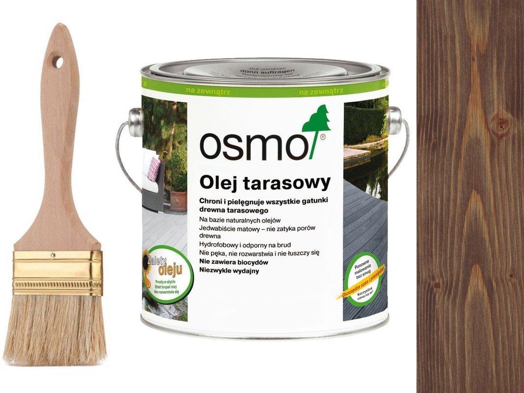 OSMO Olej do Tarasów 021 DĄB BRUNATNY 2,5L GRATIS